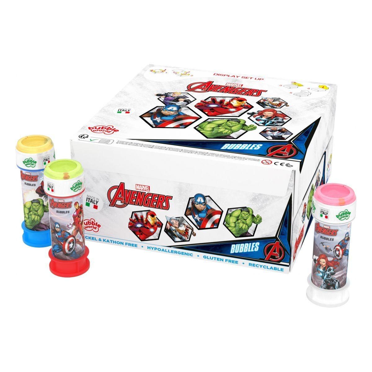 The avengers Bubbles Confezione 36pz