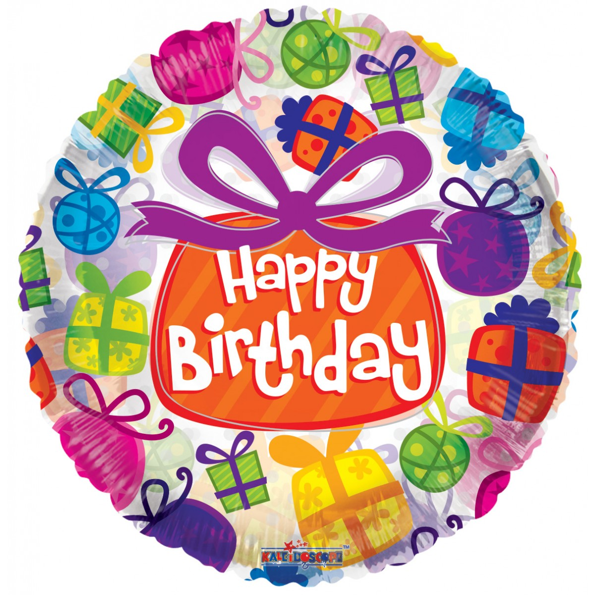 "Shape 18""/46cm Happy Birthday pacchi regalo"