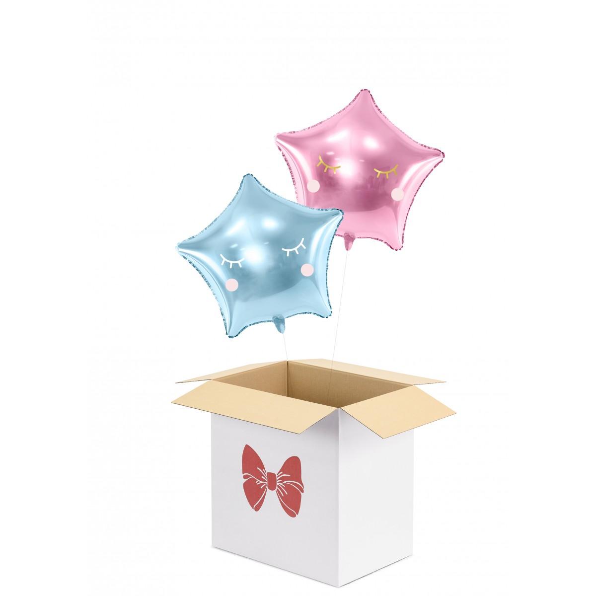 Party balloon box