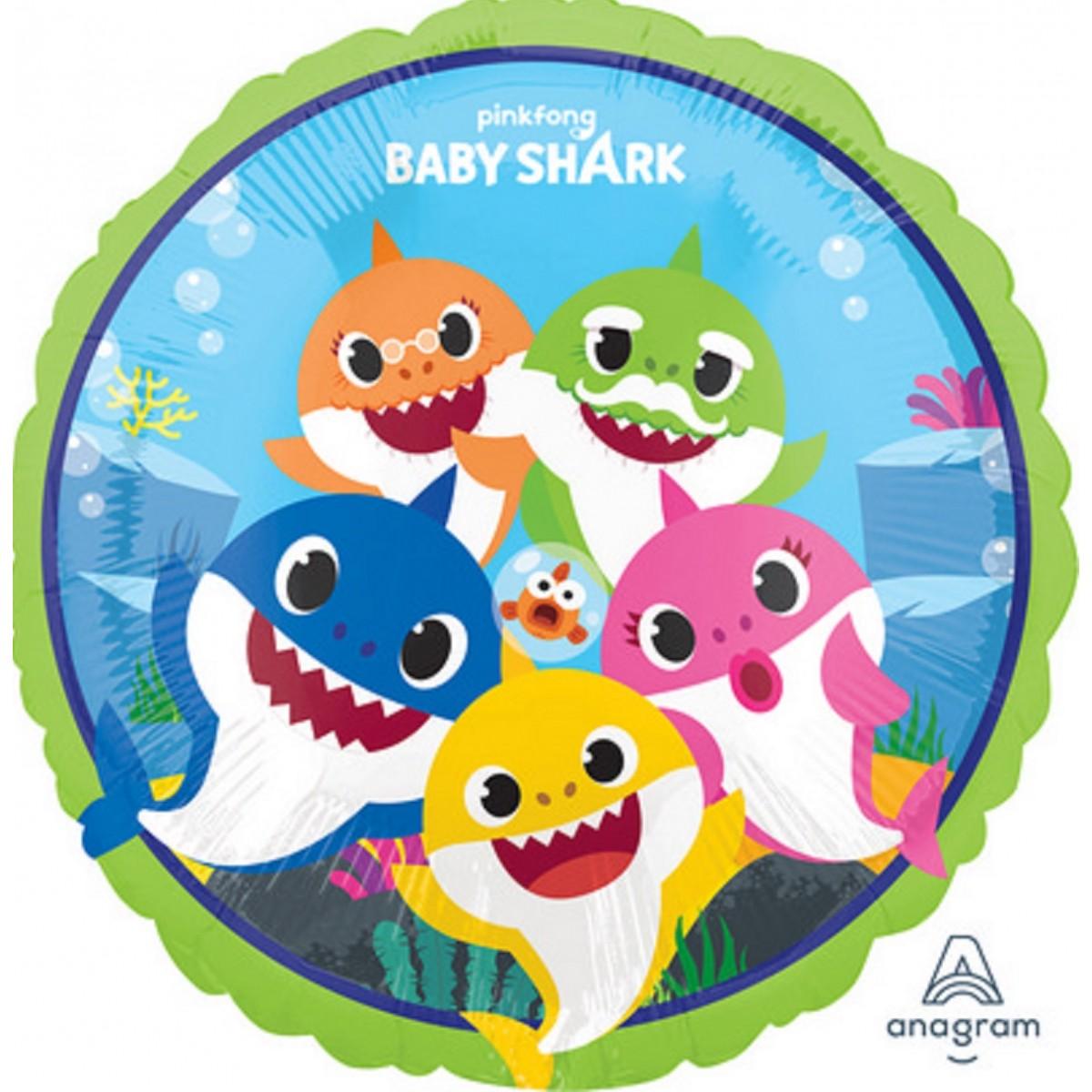 "Shape 18""/45cm Baby Shark"