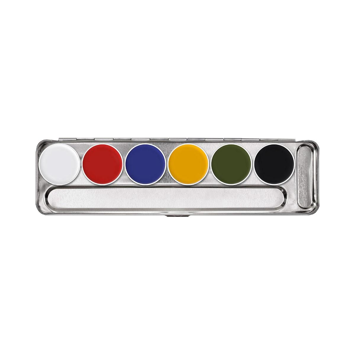 Supracolor tavolozza Metallo 6 colori