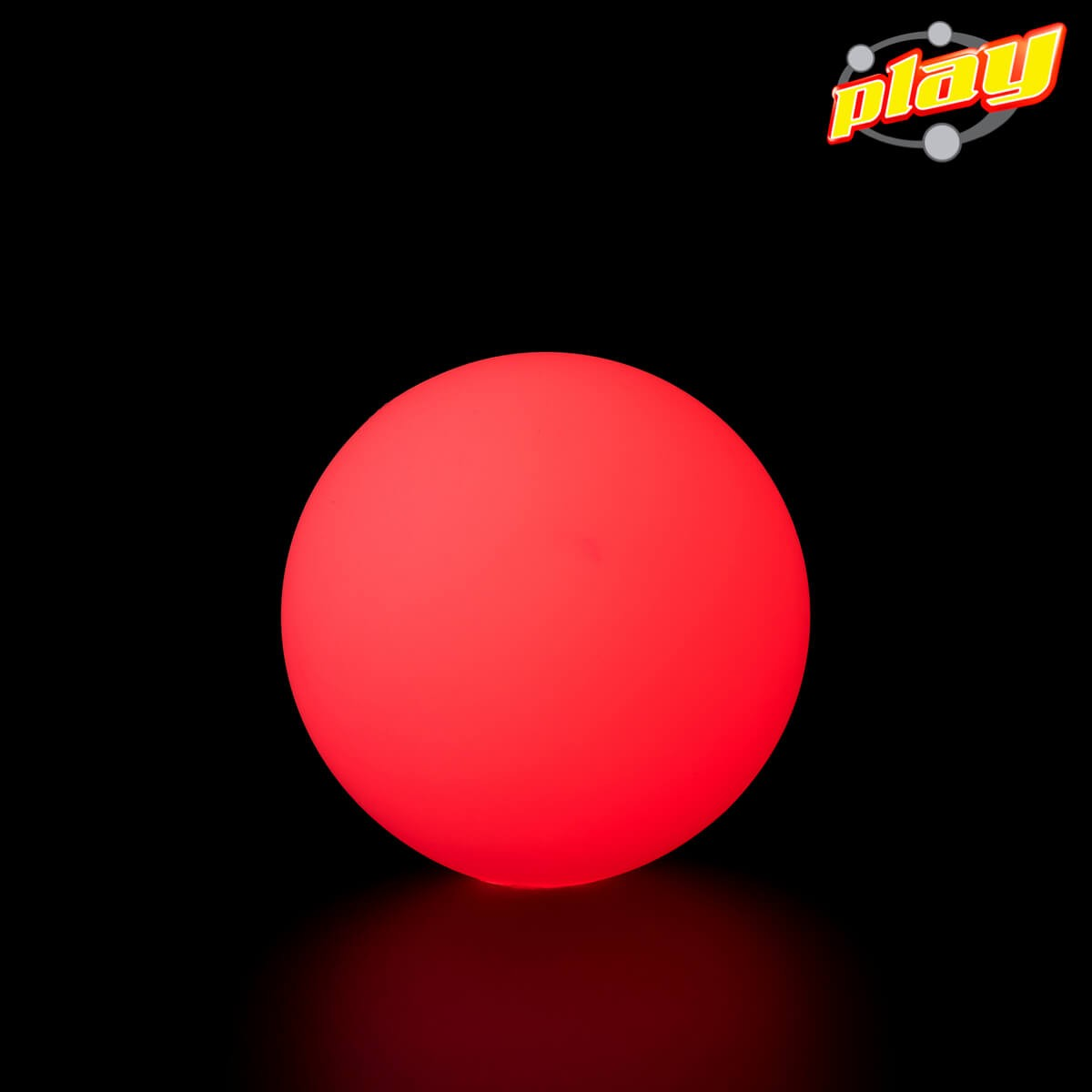 Pallina luminosa Rossa 70MM