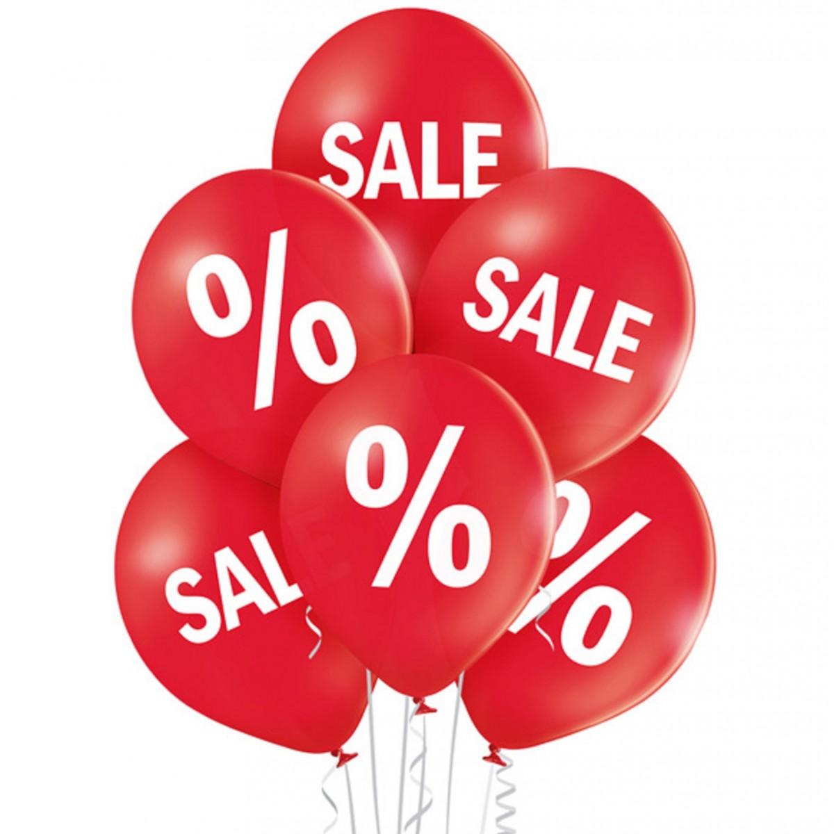 "Cf. 6 palloncini 12""/30cm Sale %"