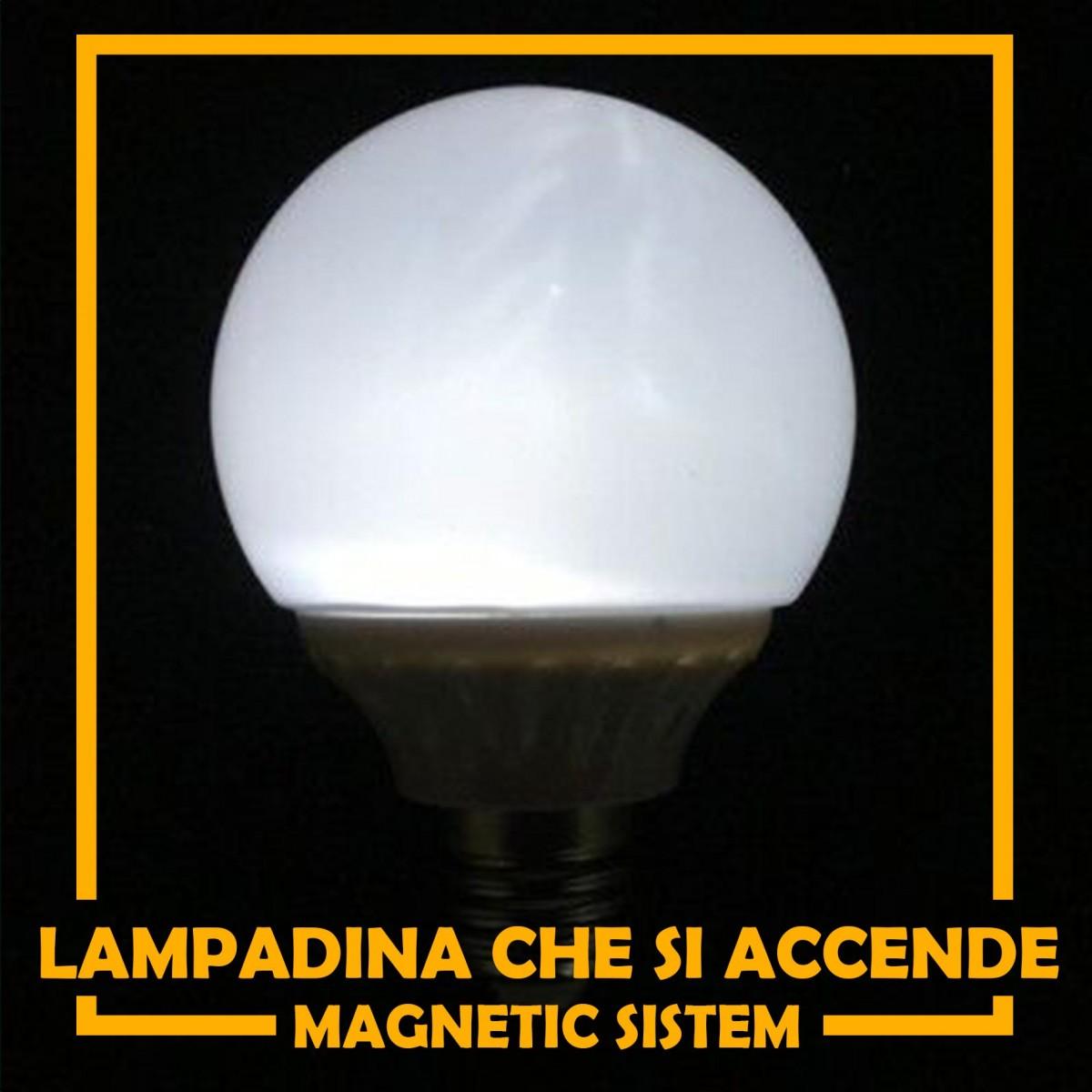Lampadina che si accende - Magnetica