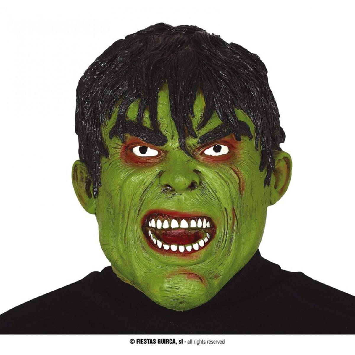Maschera uomo verde