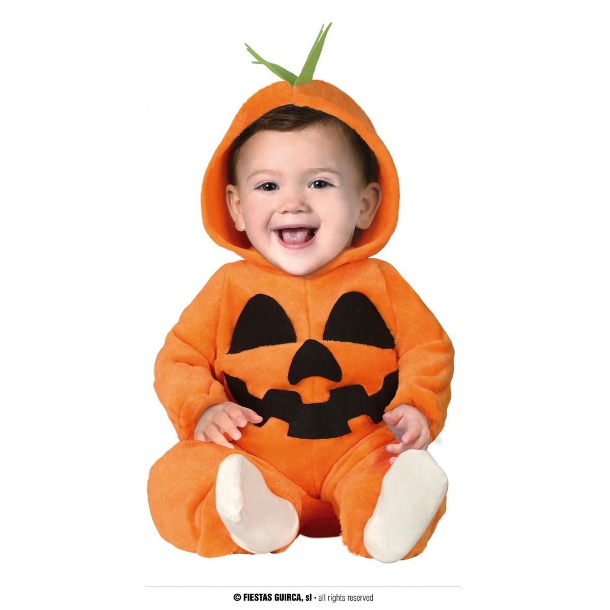 Costume neonato zucca 6/12 mesi