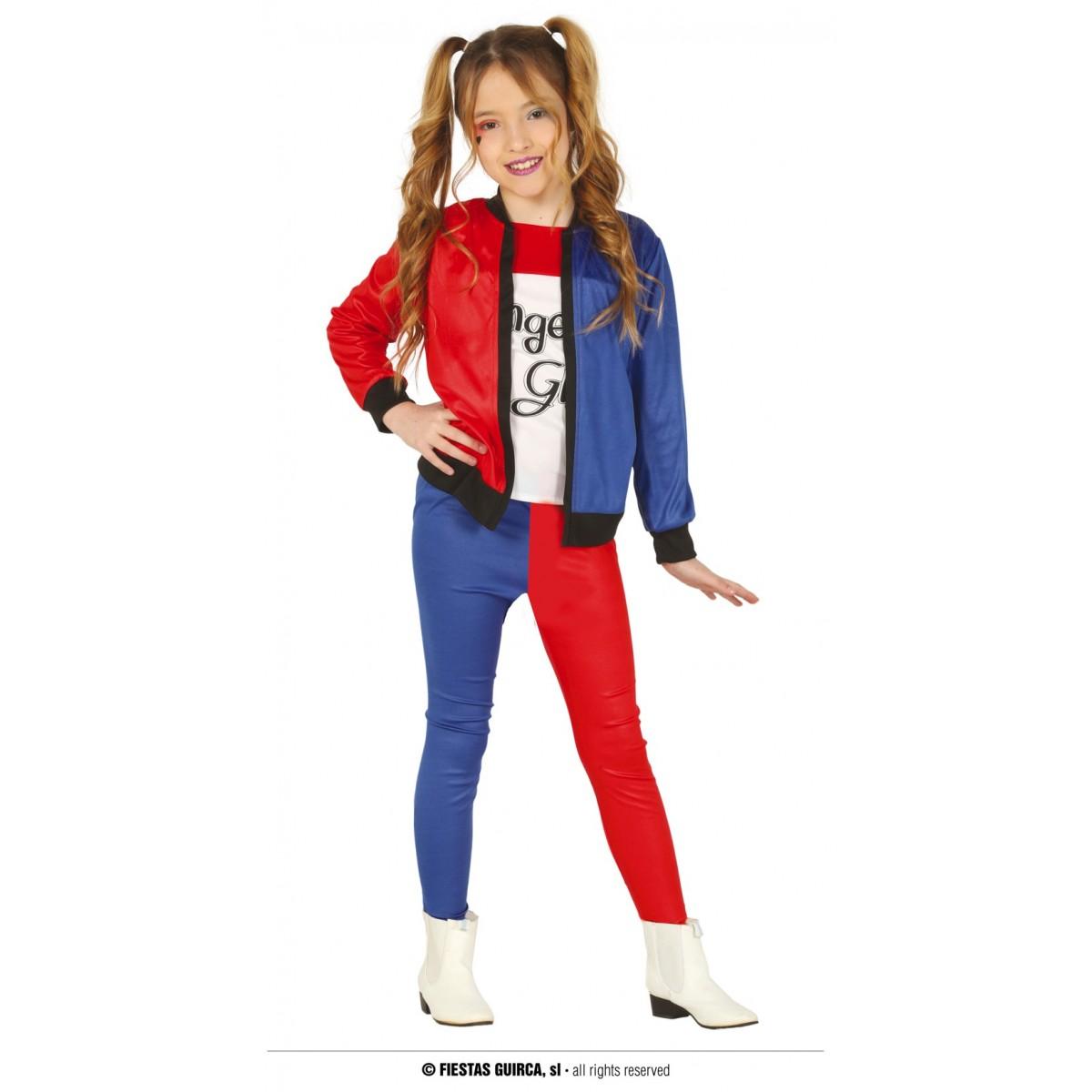 Costume ragazza pericolosa bimba