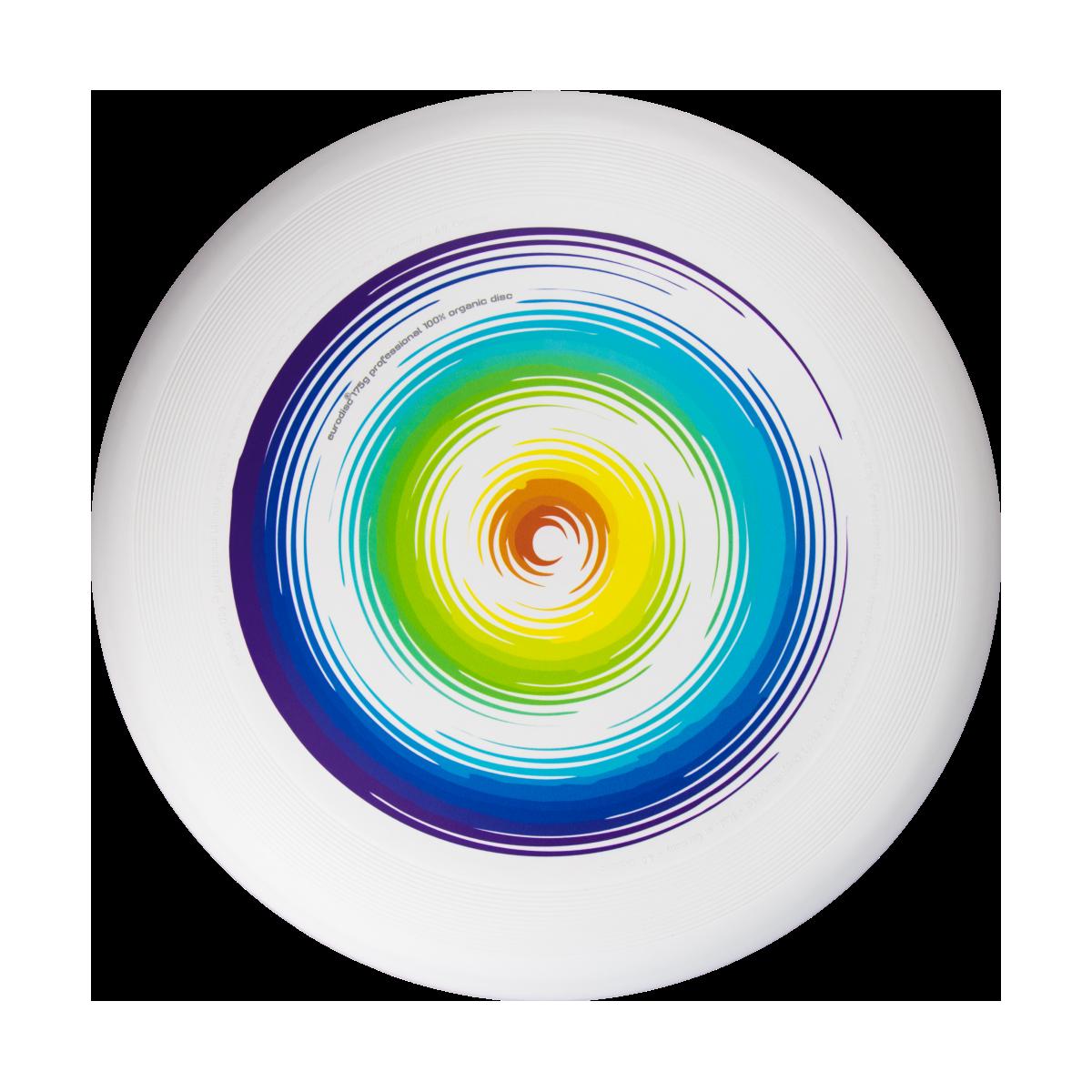 Frisbee Rainbow ultimate  175gr - 100% organic
