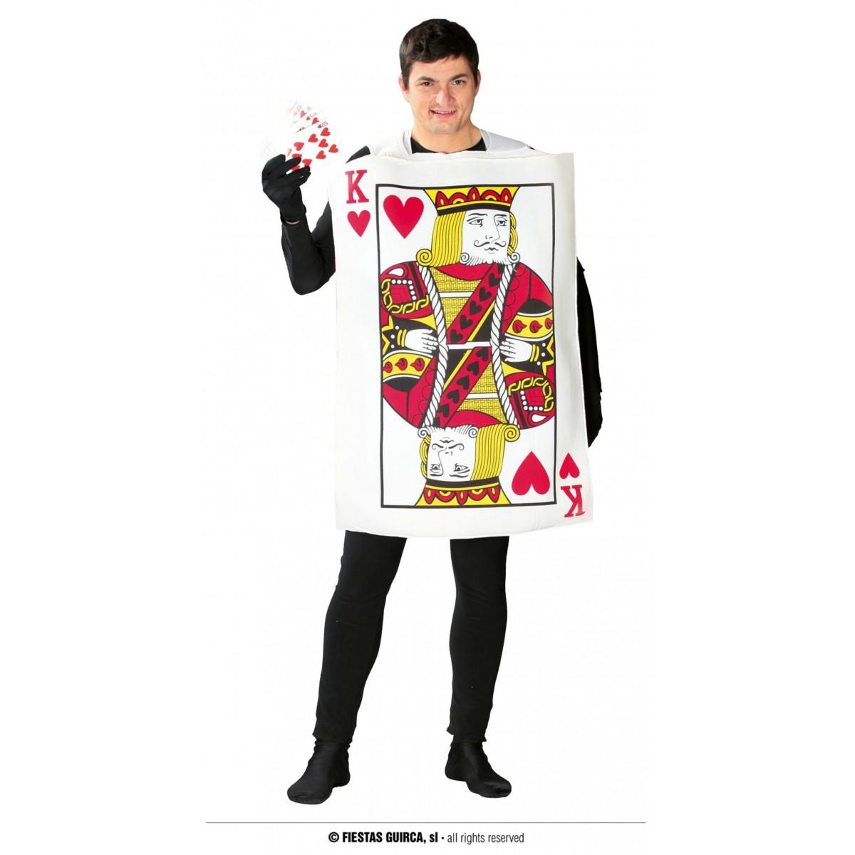 Costume carta Re di cuori