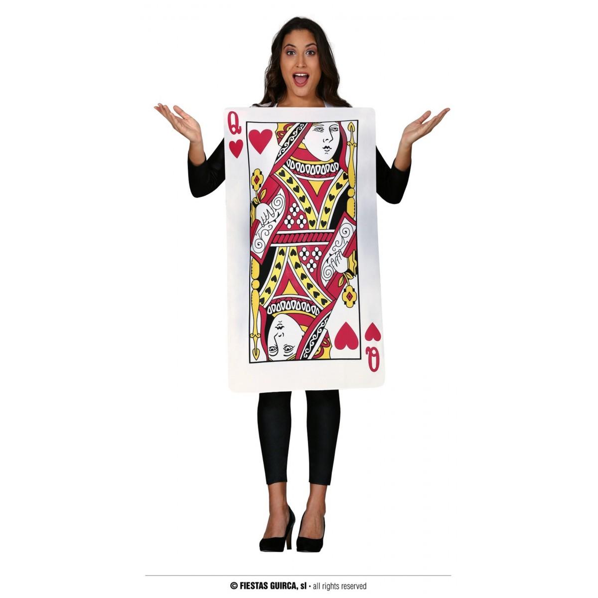 Costume carta regina di cuori