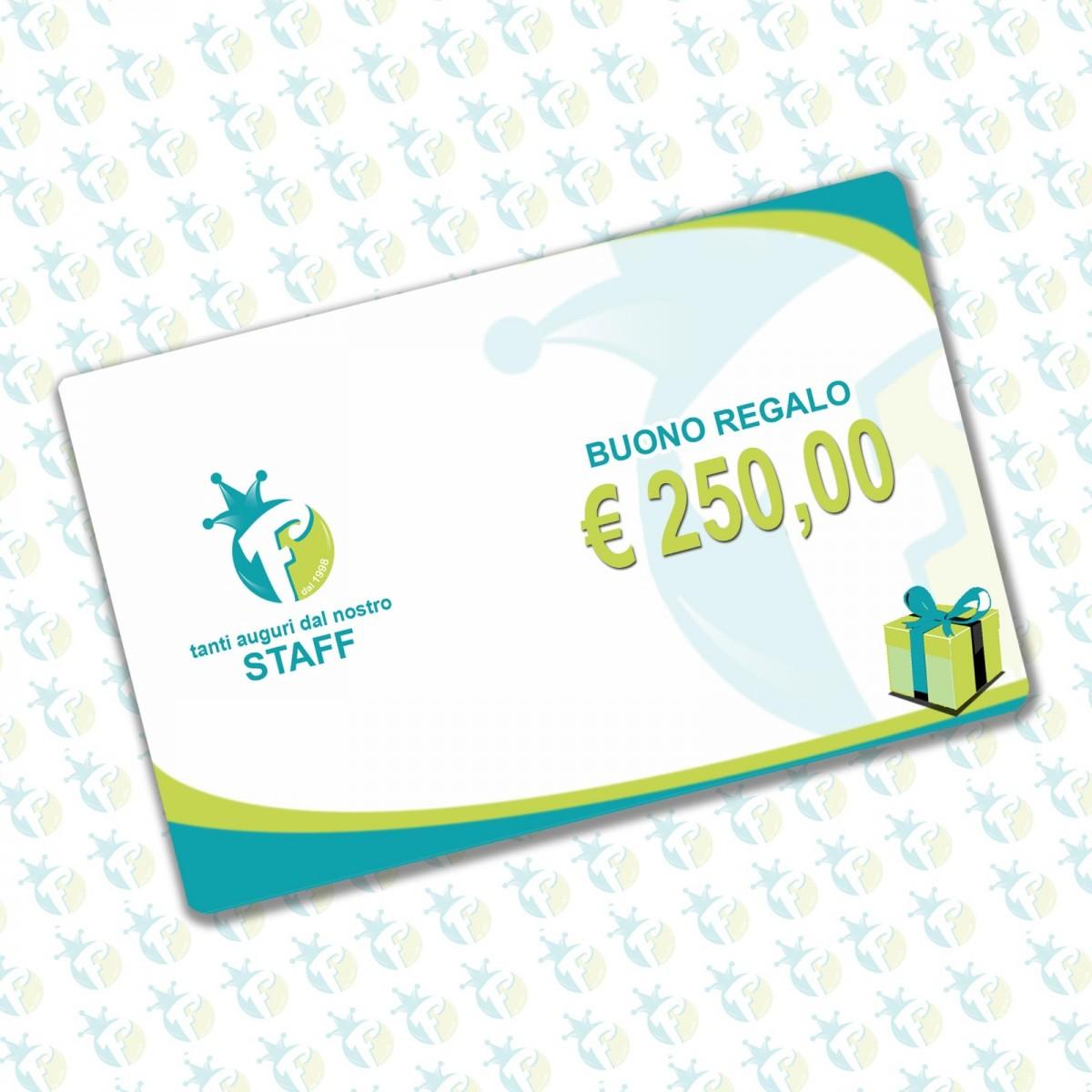 Buono regalo 250 €