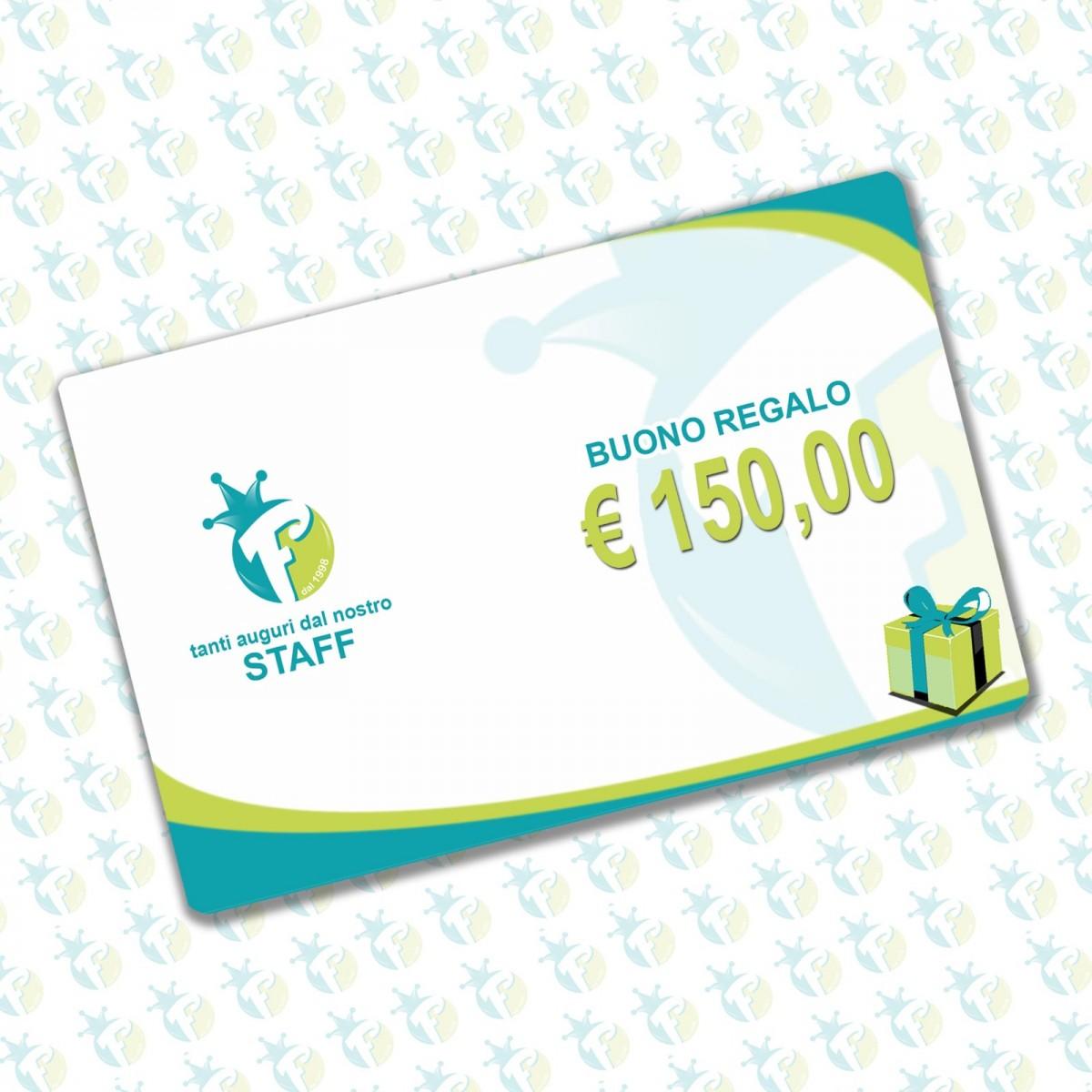 Buono regalo 150 €