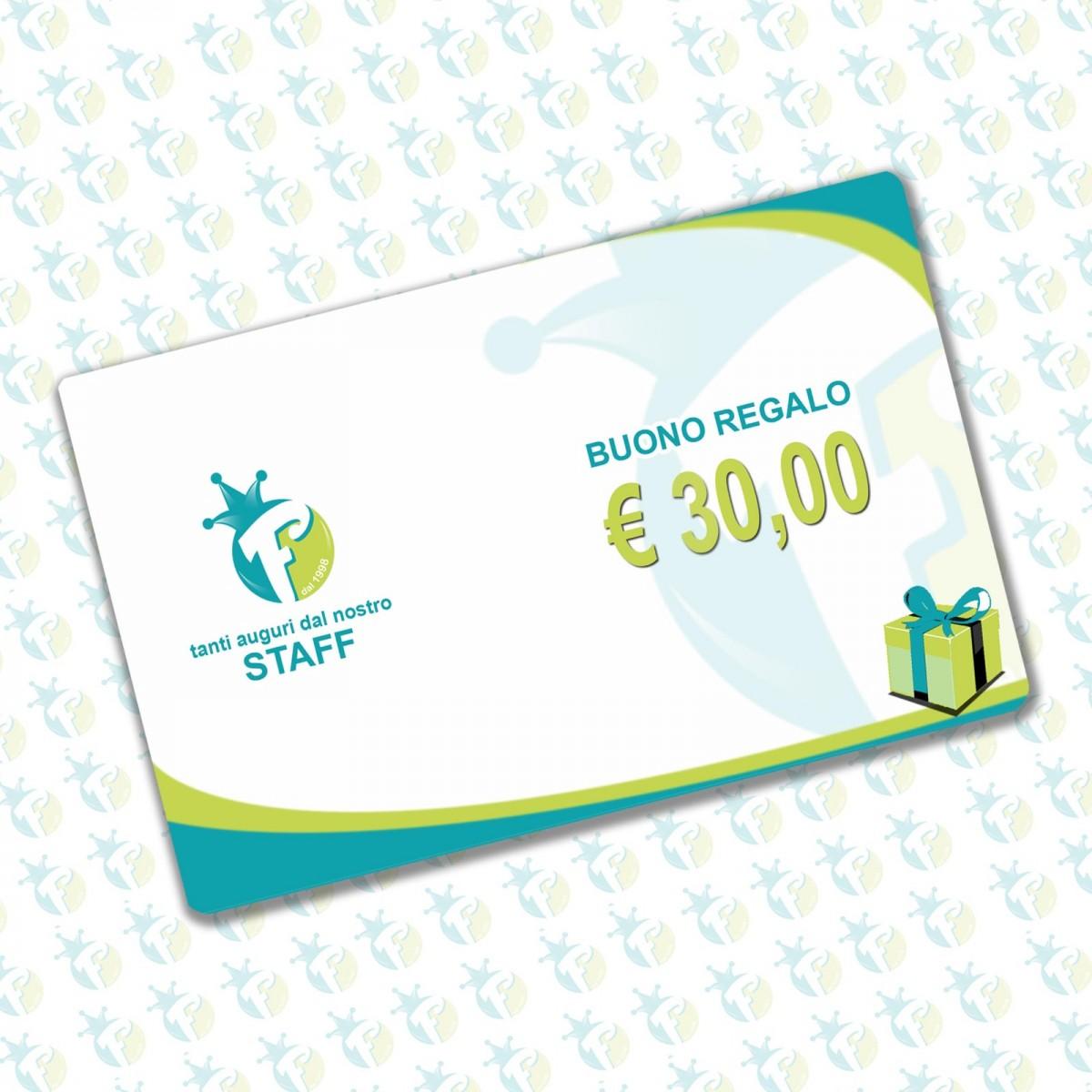 Buono regalo 30 €