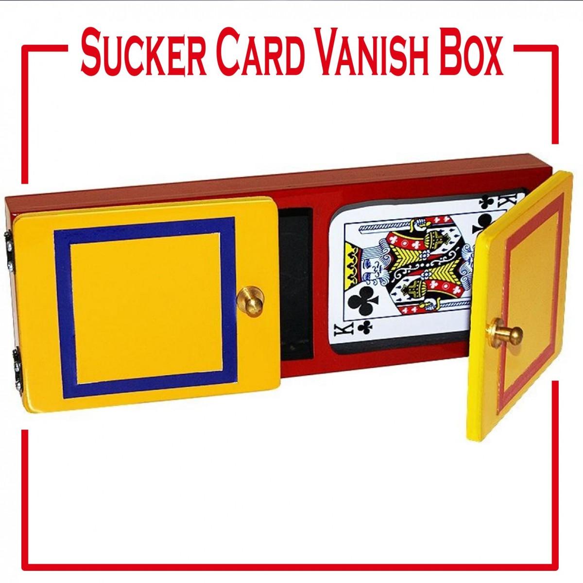 Sucker card Vanish box