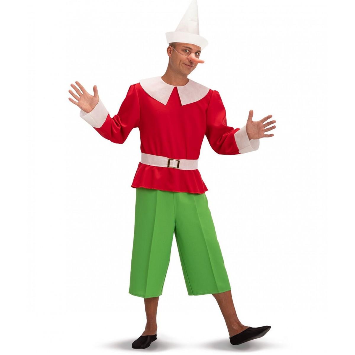 Costume Pinocchio adulto