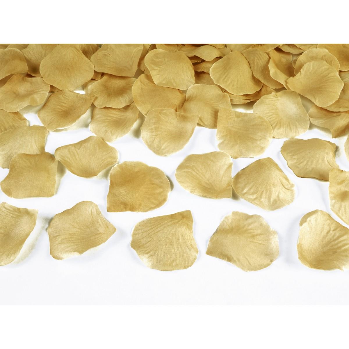 Petali Oro in stoffa 100pz