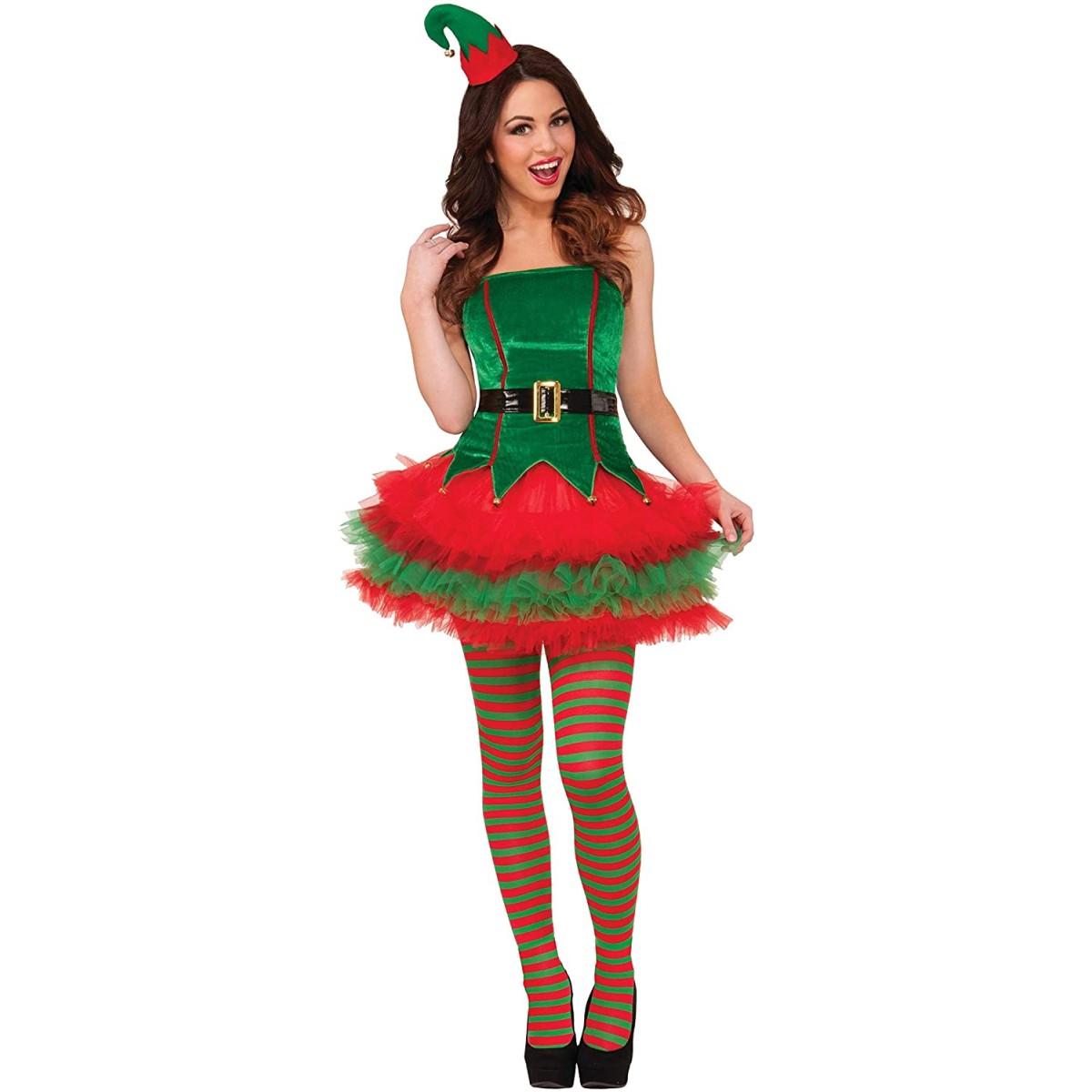 Costume deluxe miss elf