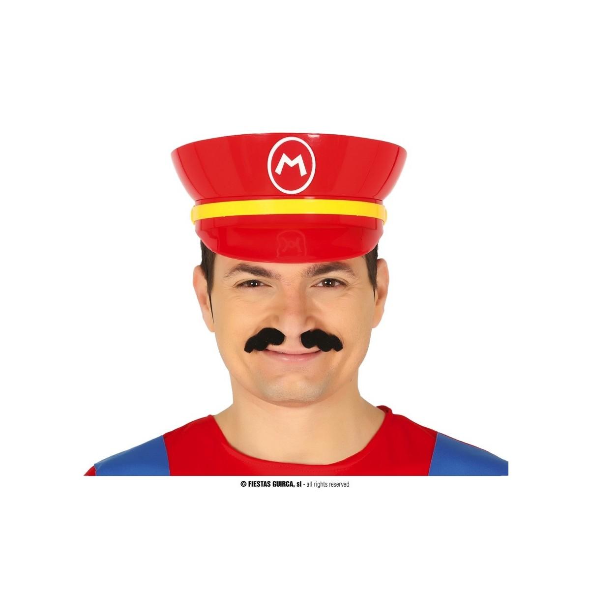 Cappello Mario in plastica rigida
