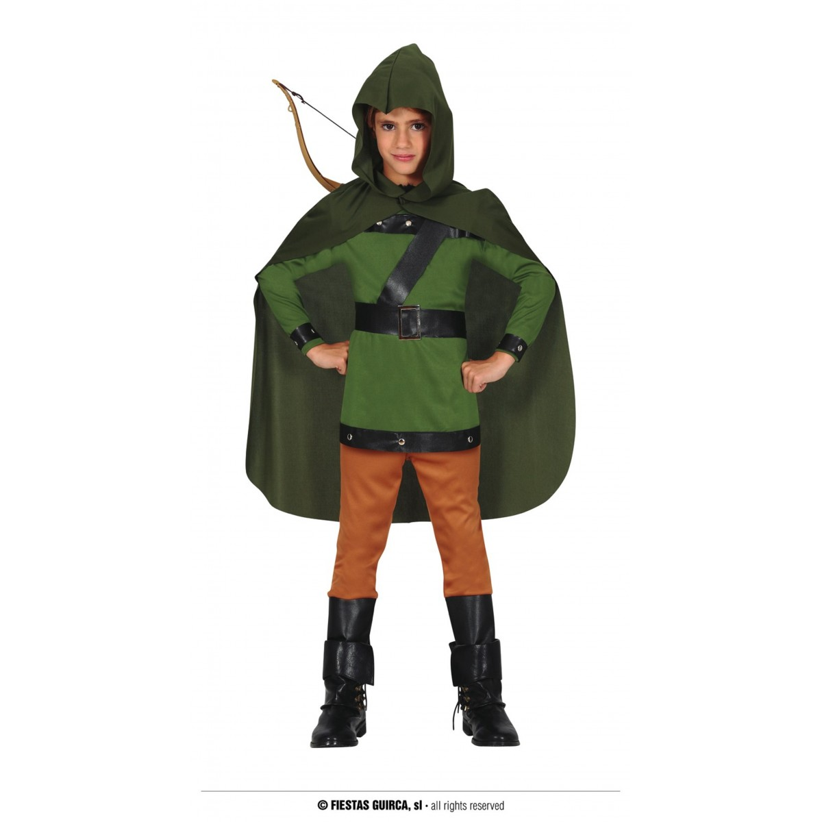 Costume arciere 5 - 6 anni