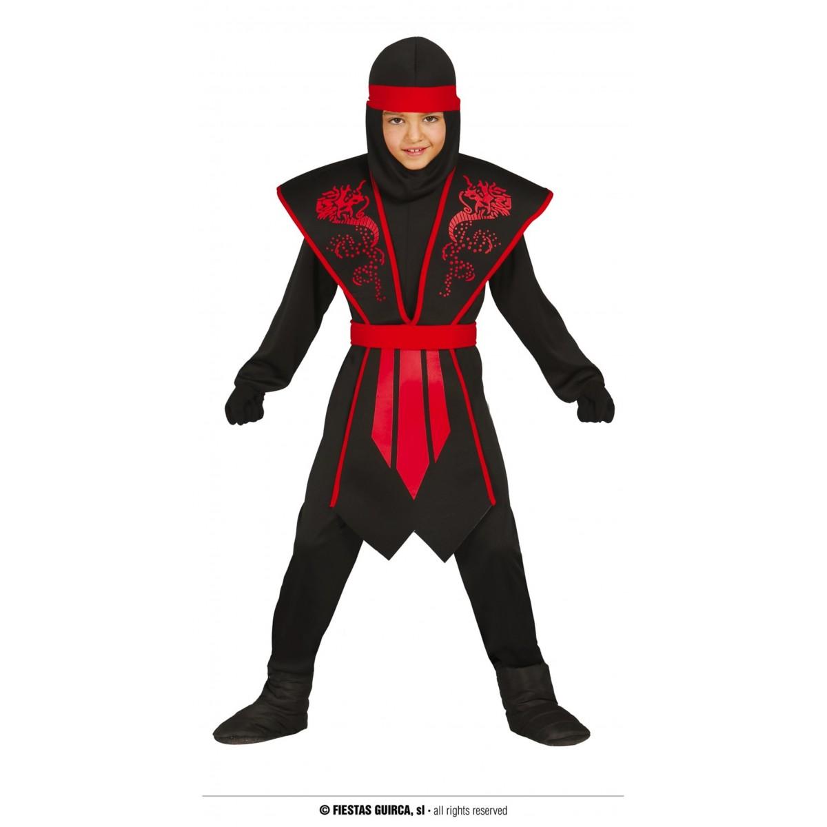 Costume Ninja 5 - 6 anni