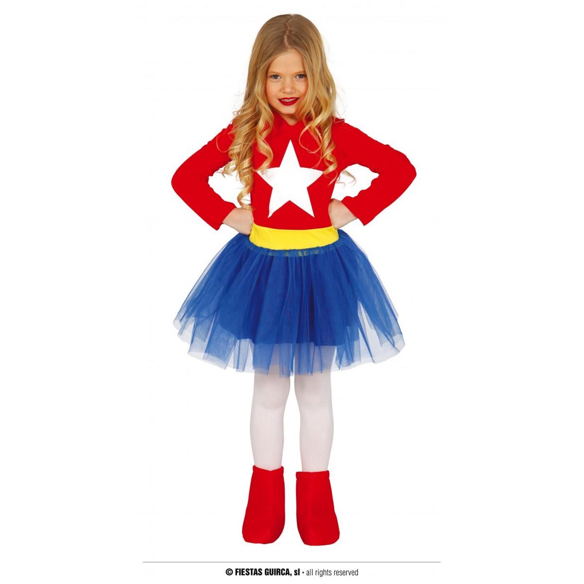 Costume supergirl 7 - 9 anni