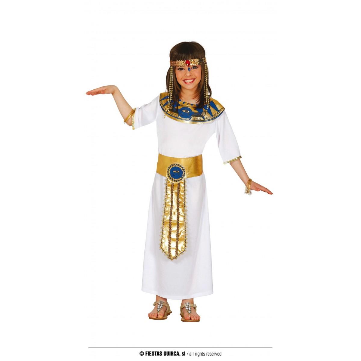 Costume egiziana 5 - 6 anni