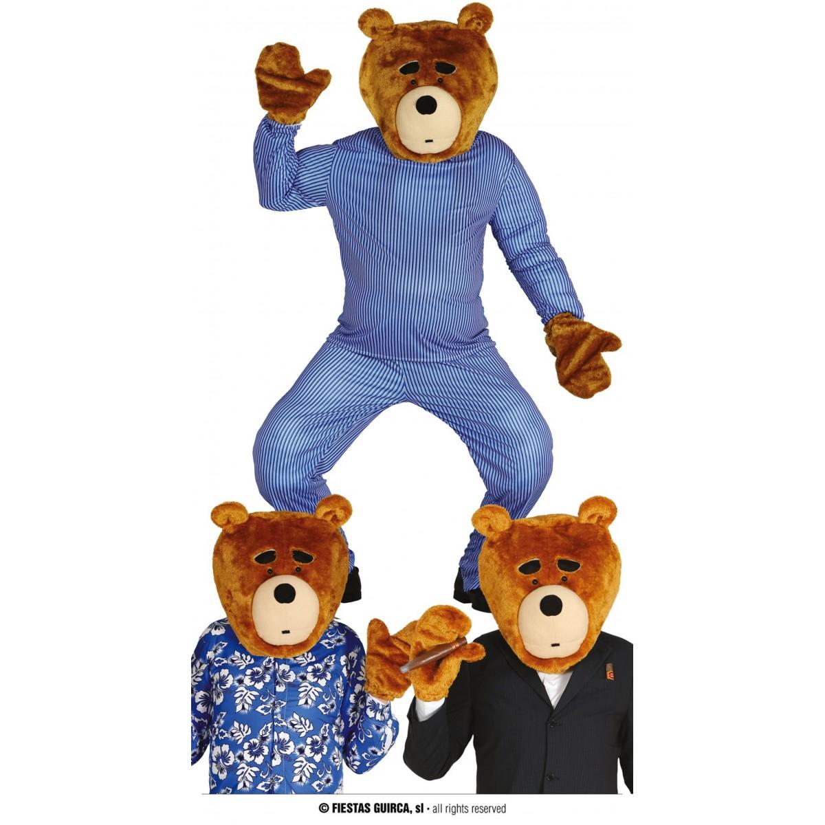 Set Orso maschera e guanti