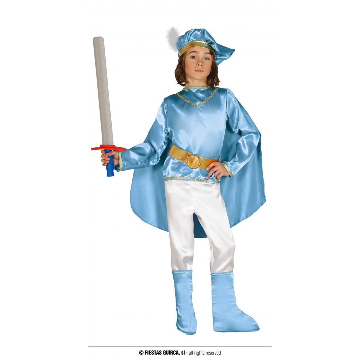 Costume principe azzurro 3 - 4 anni