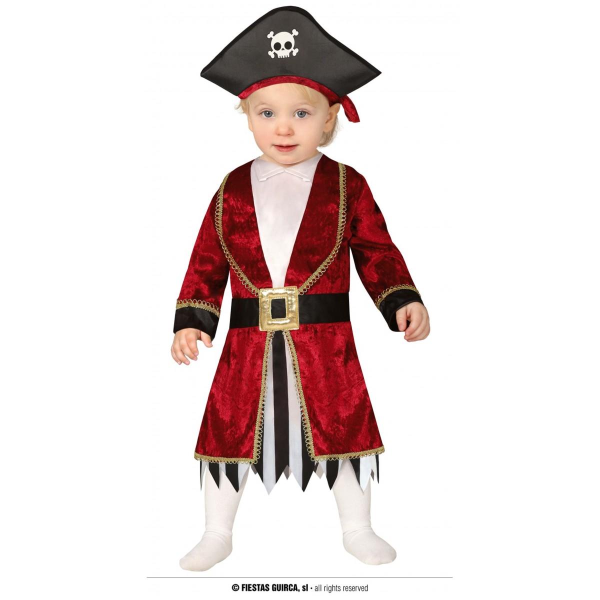 Costume pirata 6 - 12 mesi
