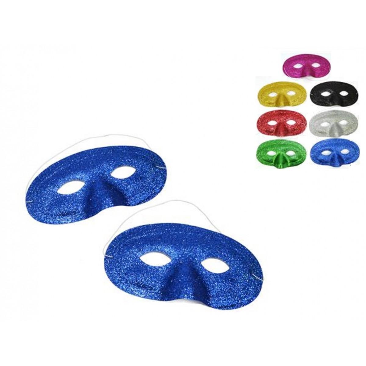 Confezione 2 domini glitter