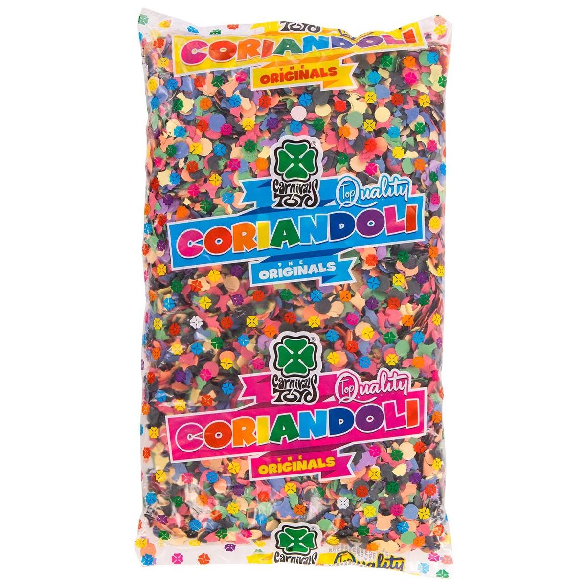 Coriandoli multicolor 100gr