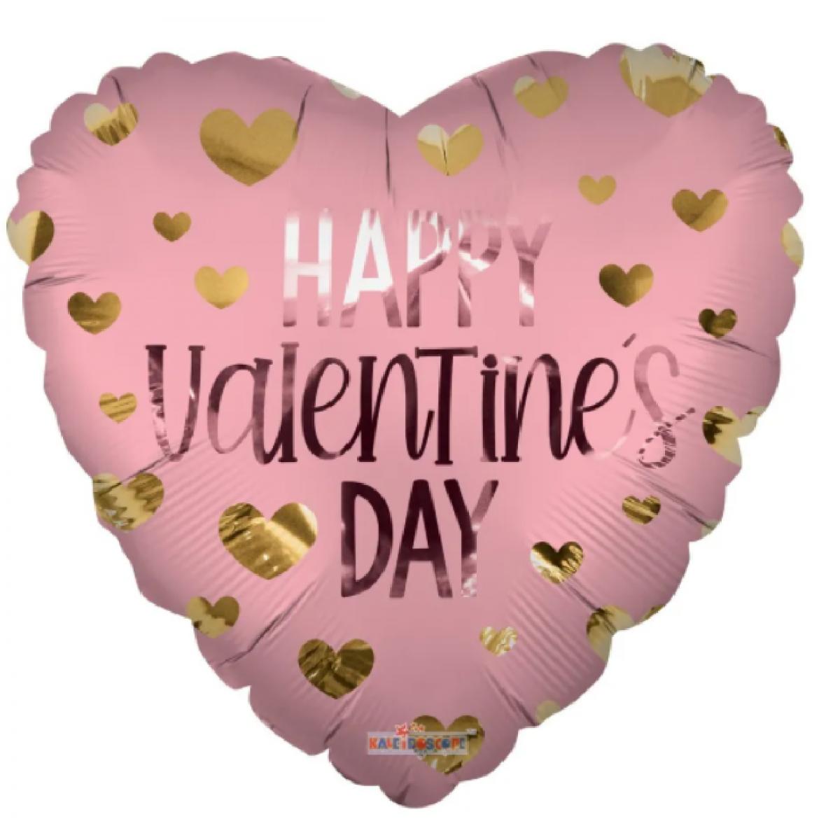 "Shape cuore 18""/45cm Eco Happy Valentines Day Matte"