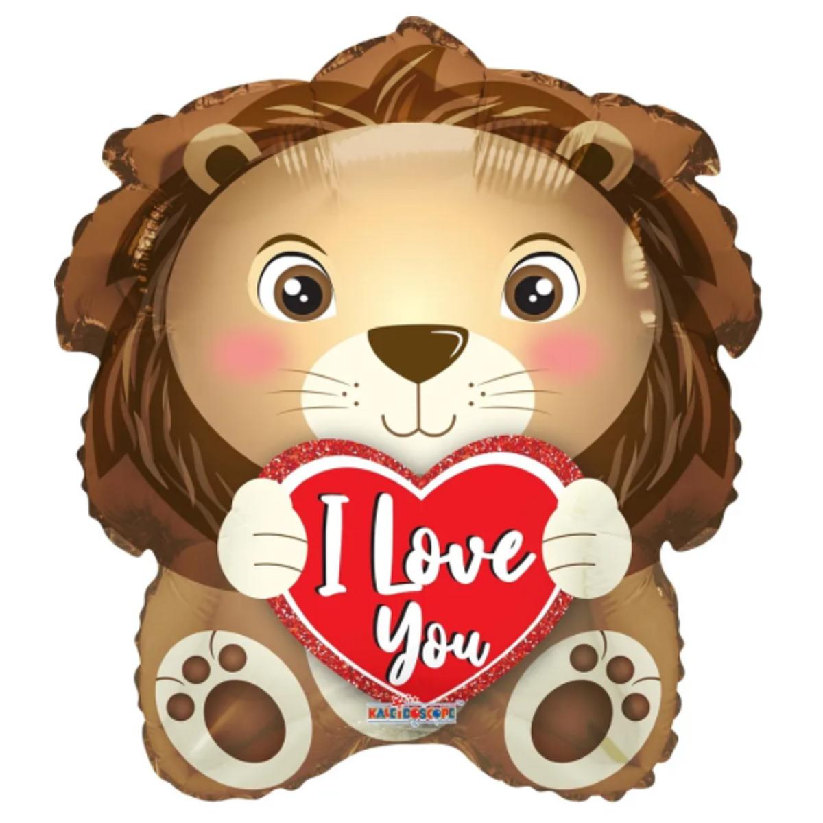 "Shape leone 18""/45cm I love you"