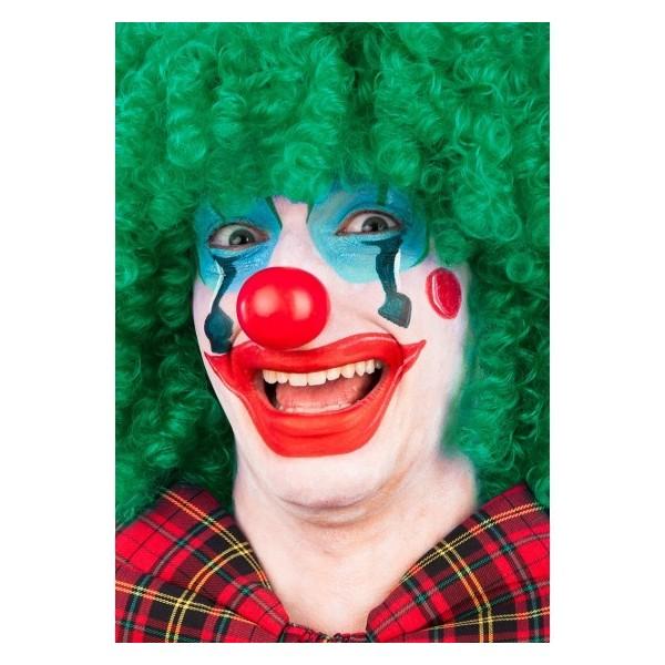 Naso clown rosso in plastica