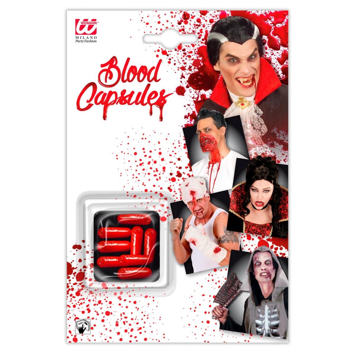 Set di 8 capsule sangue