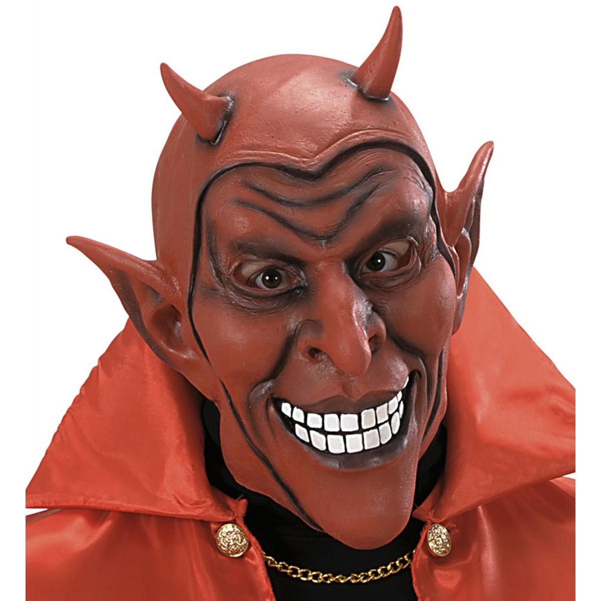 Maschera diavolo sorridente