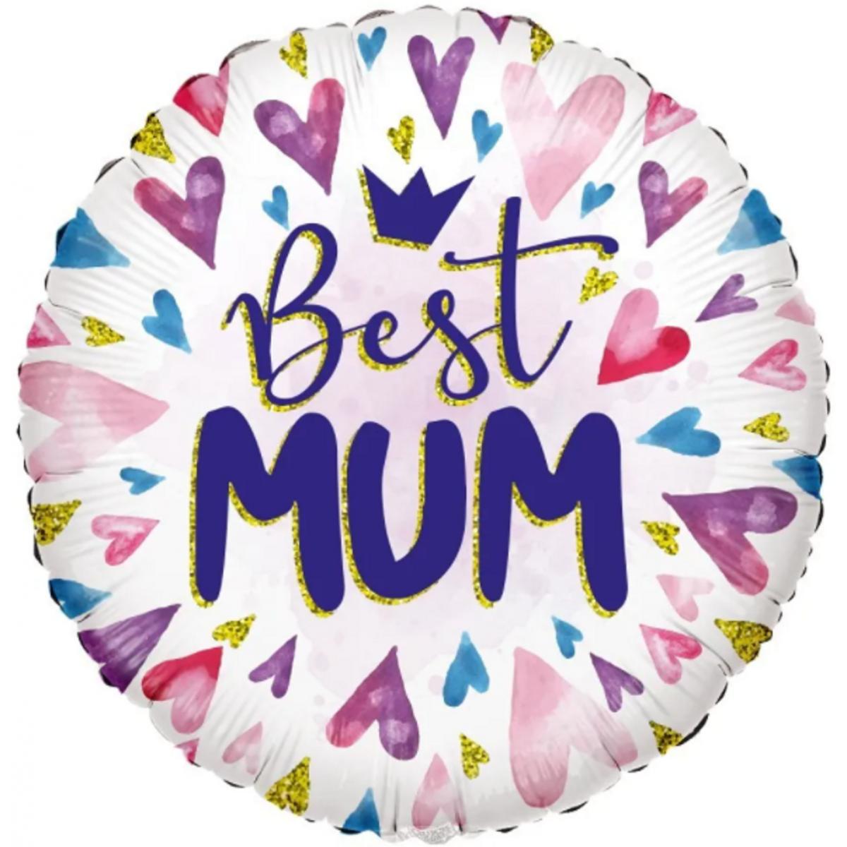 "Shape 18""/45cm Best Mum"