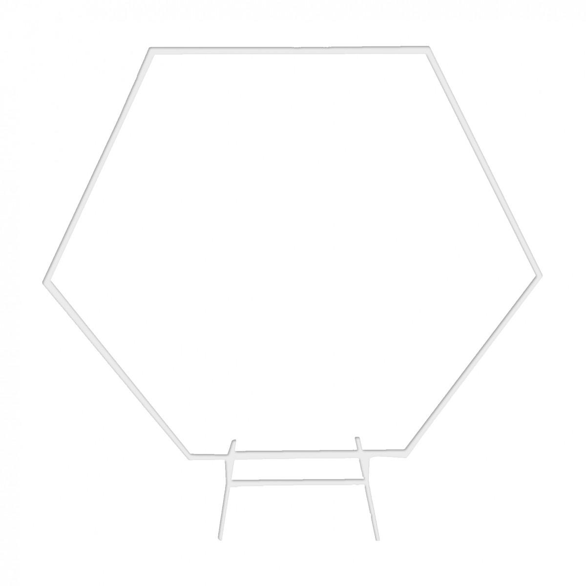 Arco esagonale 2mt Vari colori