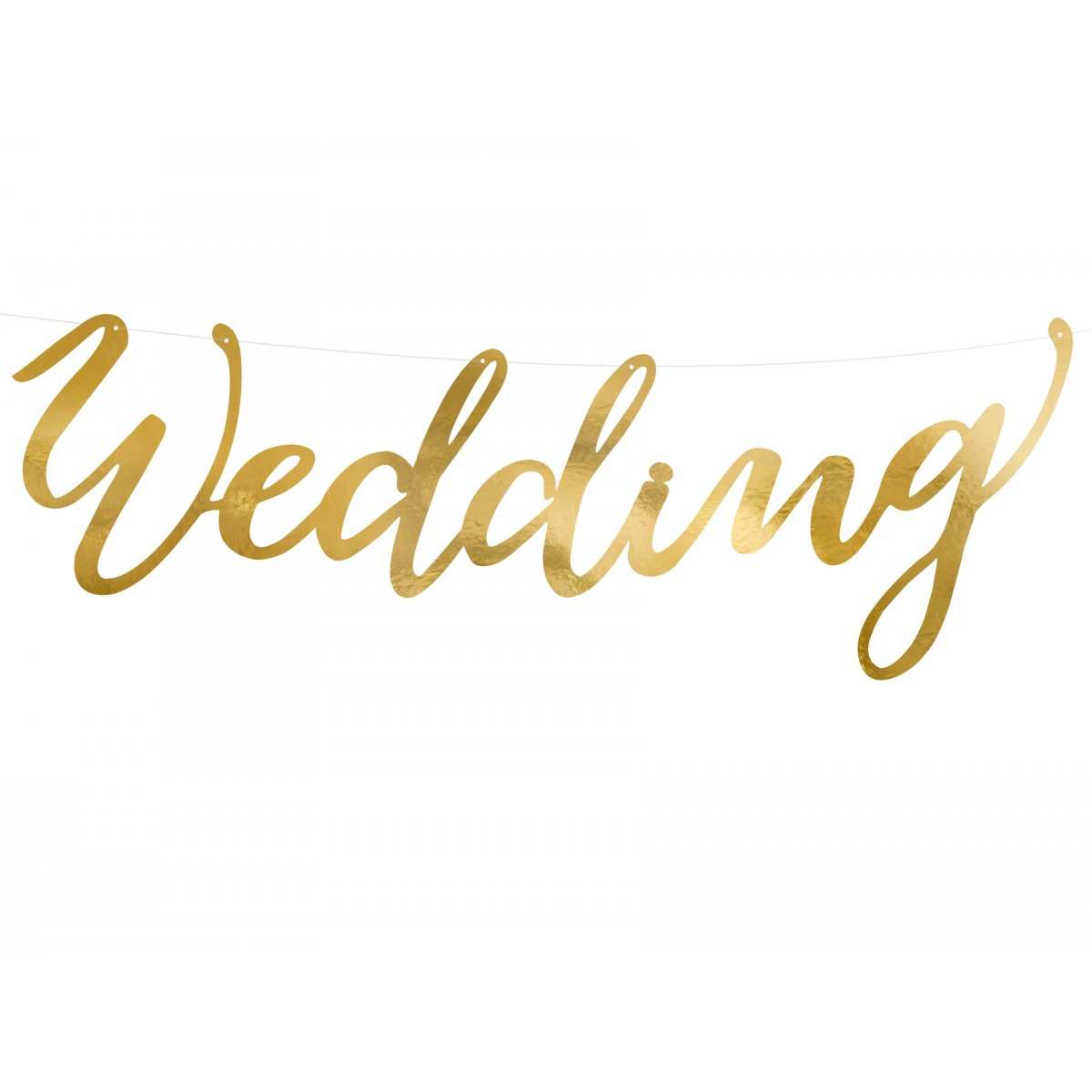 Banner Wedding 45cm