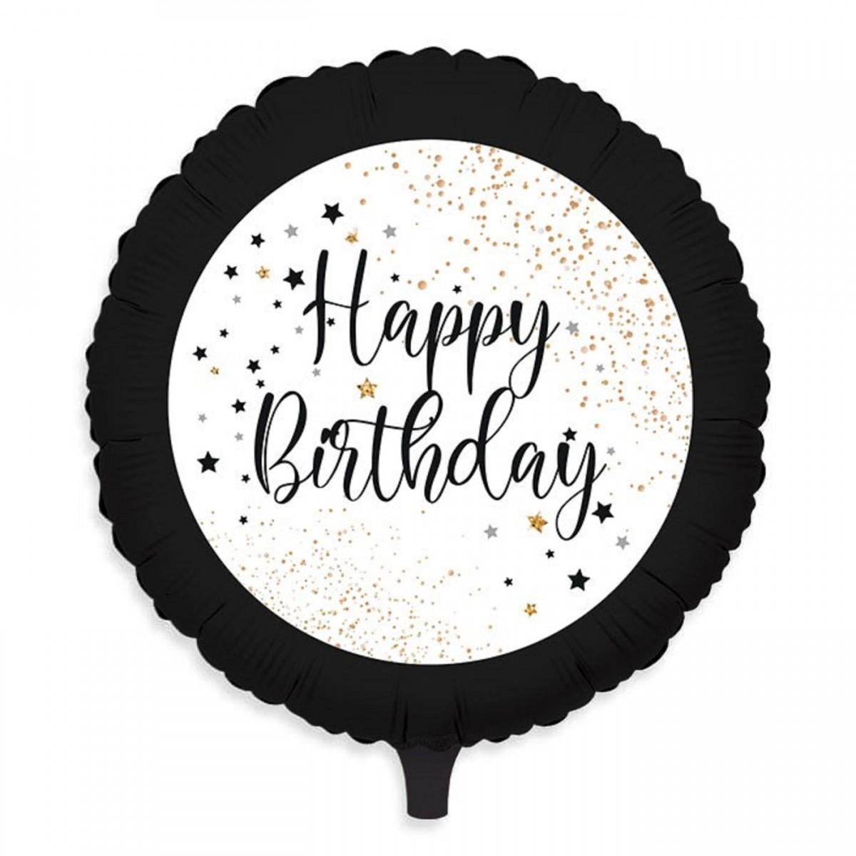 "Shape 18""/45cm Happy birthday nero"