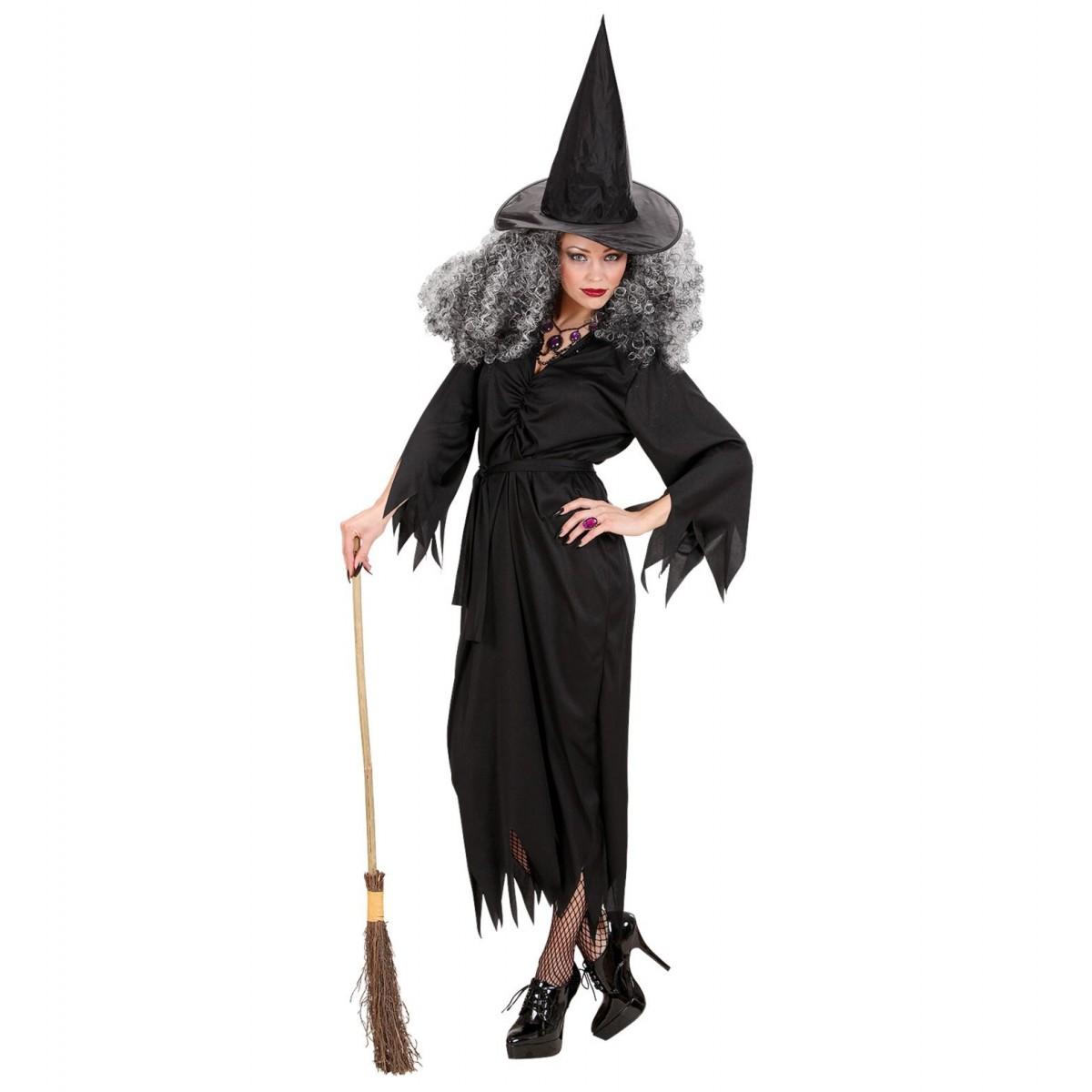 Costume Strega nera confezione 3 pz