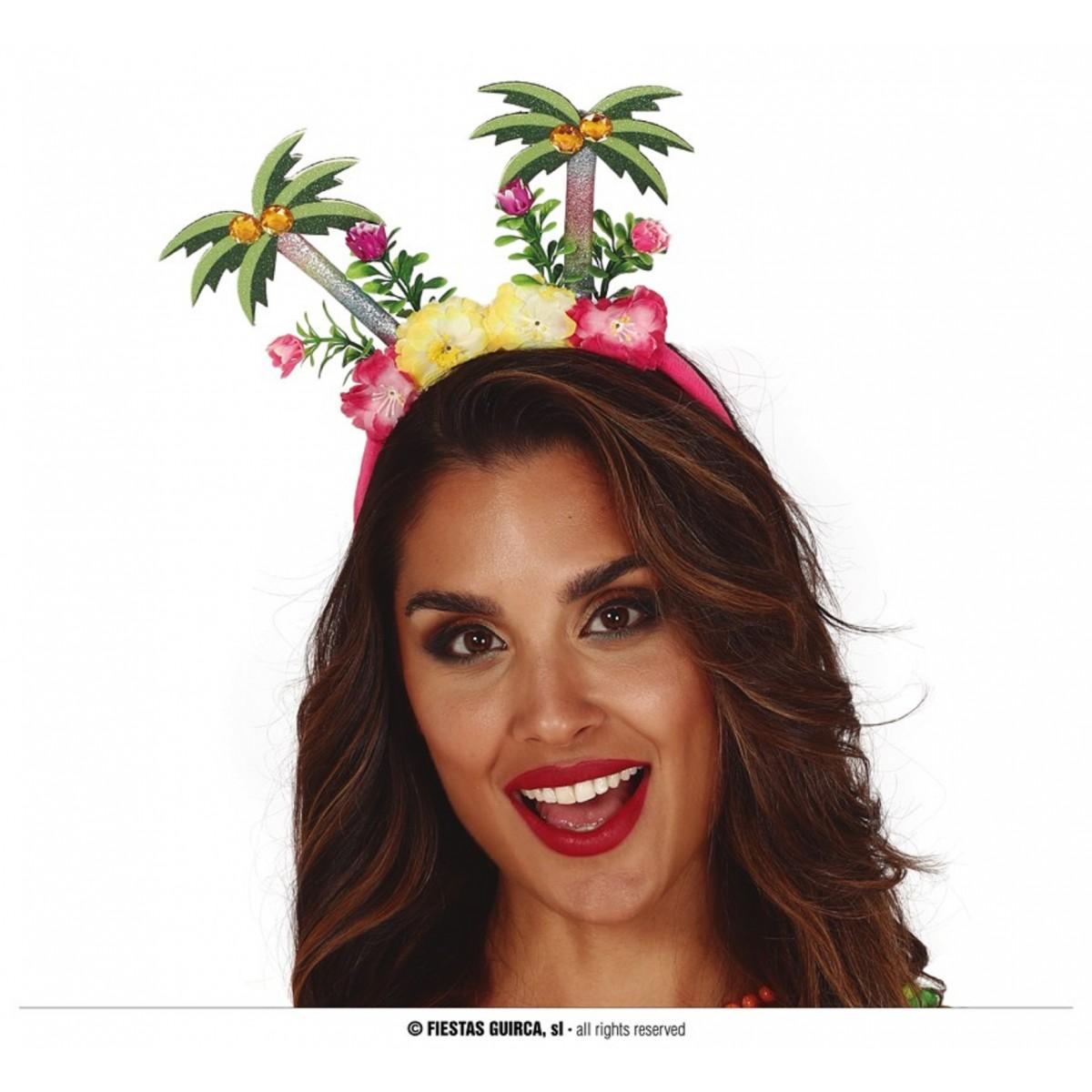 Cerchietto Tropical con palme