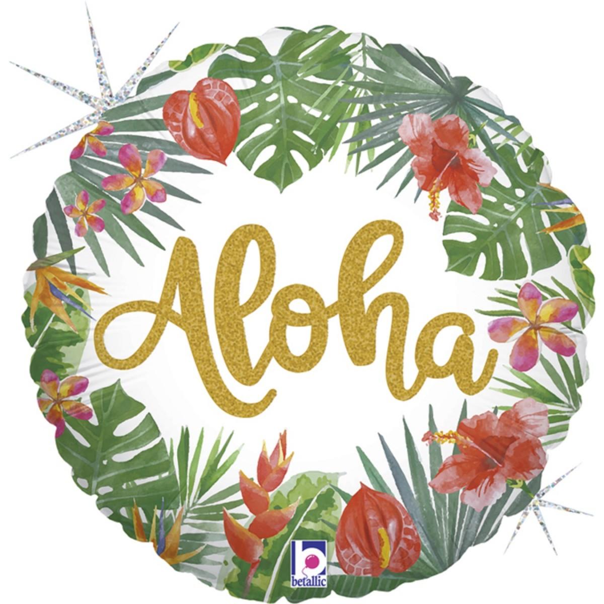 """Shape 18""""/45cm Tropical Aloha"""
