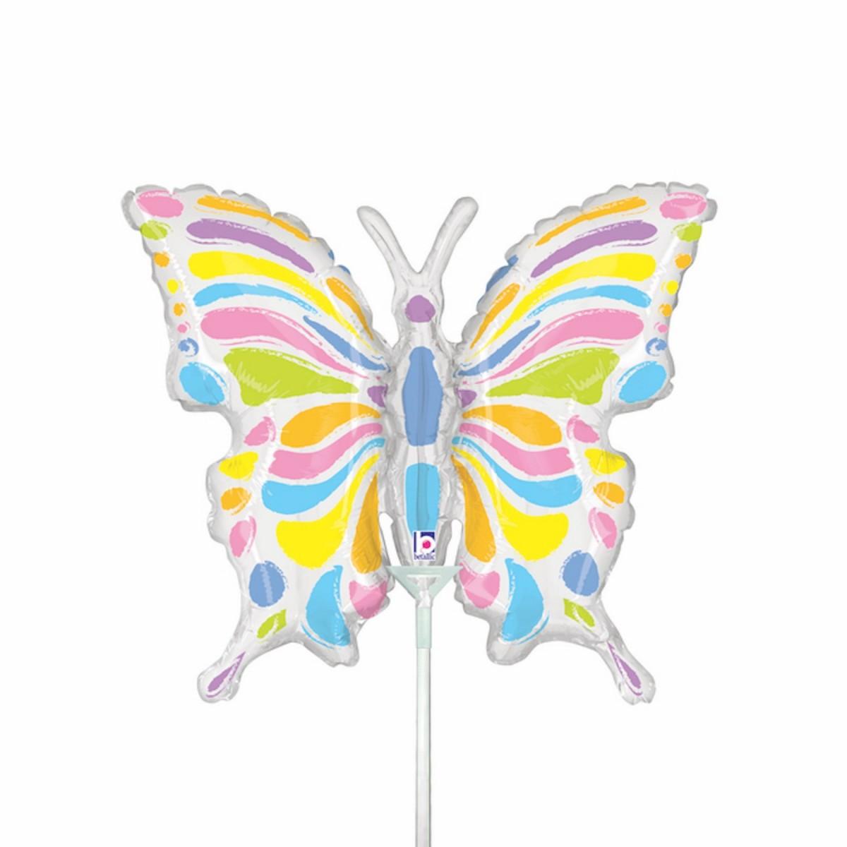 "Minishape 14""/35cm farfalla pastel"