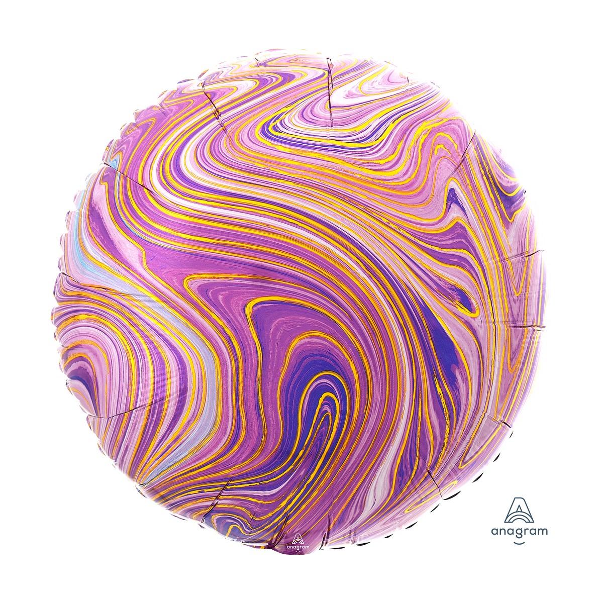 """Shape round 18""""/45cm Marblez vari colori"""