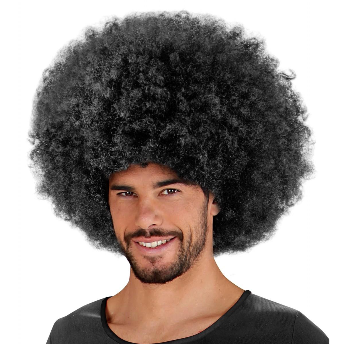 Maxi parrucca Jimmy nera