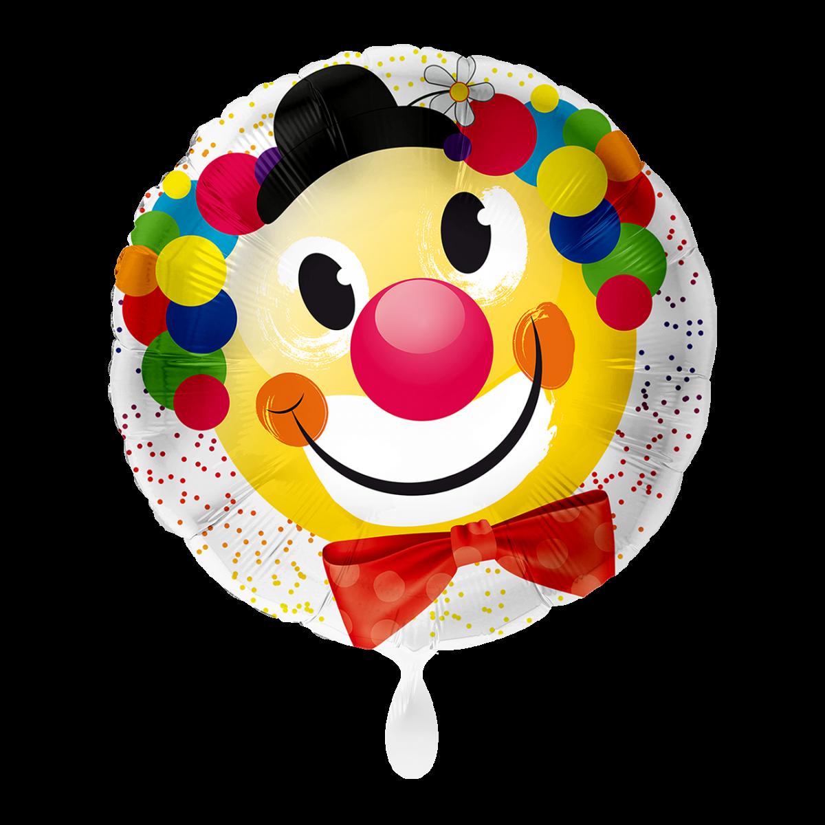 "Shape 18""/45cm clown sorridente"