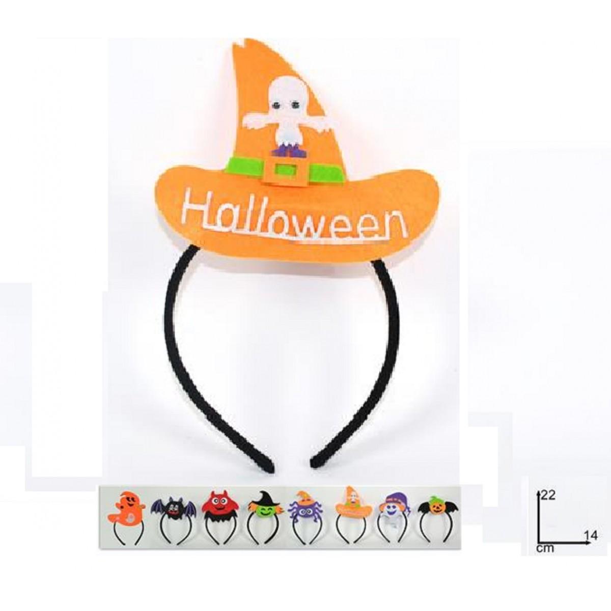 Cerchietto mostriciattoli Halloween