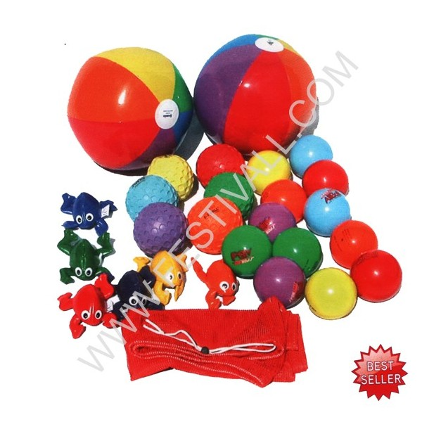 set giochi per telone paracadute
