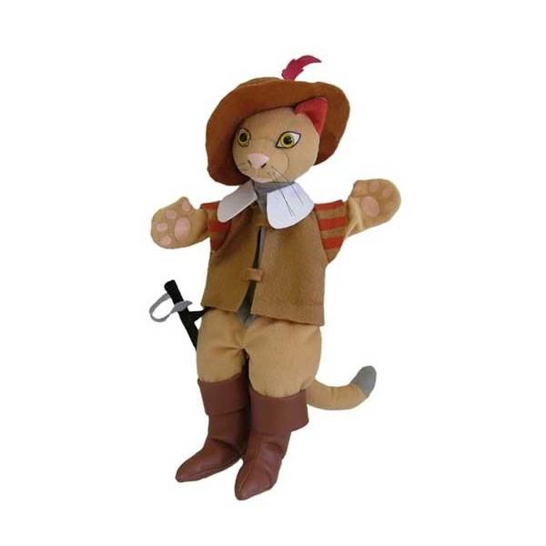 marionetta  gatto con gli stivali
